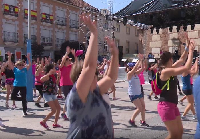Zumba Fraterna En San Sebastián De Los Reyes A Favor De La Aecc Aecc Madrid